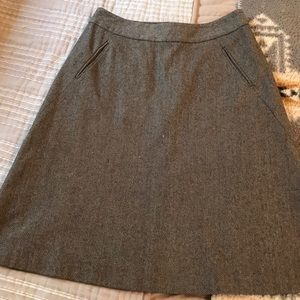 Banana republic tweed skirt 8